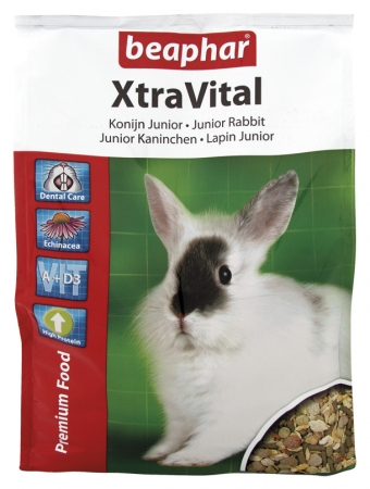 XtraVital Rabbit Junior - 2.5kg - Dutch/French/English/German/Spanish/Portuguese/Italian/Greek