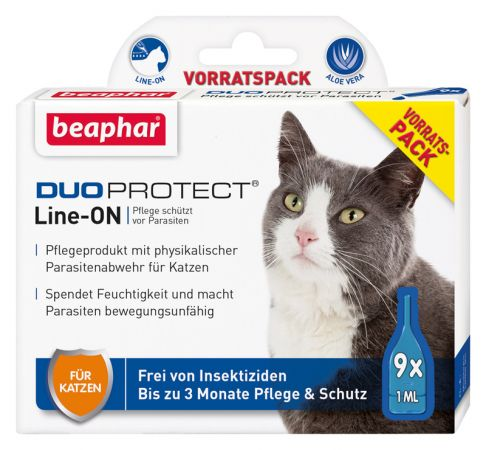 DUOPROTECT® SPOT-ON Katze 6 x 1 ml