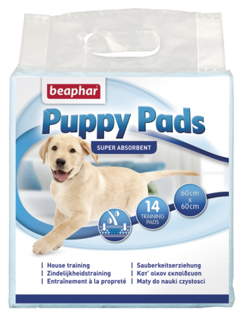 Puppy Pads - 14 - NL/FR/GB/DE/ES/IT/GR/NO/PL/CZ/BG/HU