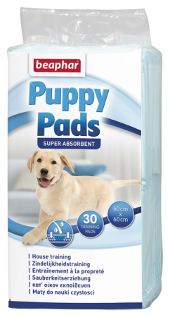 Puppy Pads - 30 - NL/FR/GB/DE/ES/IT/GR/NO/PL/CZ/BG/HU