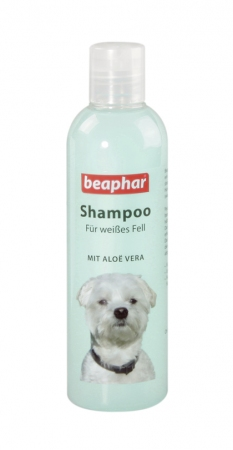 Shampoo White Coat Aloë Vera - 250ml - German
