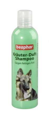 Shampoo Herbal: Greasy Coat - German