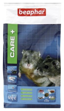 CARE+ Dwarf Hamster Food - 700g - Dutch/French/English/German/Spanish/Italian/Greek/Norwegian