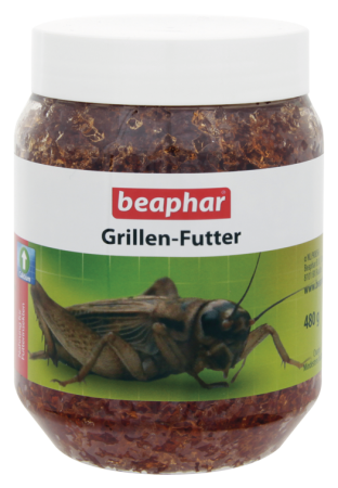 Cricket Feed - 480g - German