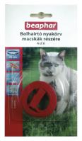 BEAPHAR BOLHAIRTÓ NYAKÖRV macskáknak (piros)