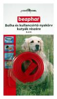 BEAPHAR BOLHA- és KULLANCSNYAKÖRV kutyáknak (piros)