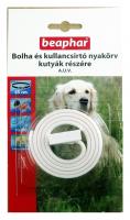 Beaphar Bolha- és kullancsirtó nyakörv kutyáknak (fehér)