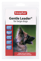 GENTLE LEADER Fejhám nagyméretű kutyáknak - fekete