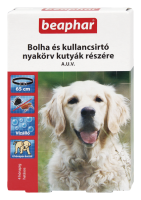 BEAPHAR BOLHA- és KULLANCSNYAKÖRV kutyáknak (fekete)