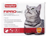 FIPROTEC 50MG 3X macskának