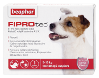 FIPROTEC 67MG 1X kistestű kutyáknak