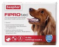 FIPROTEC 134MG 3X közepes testű kutyáknak