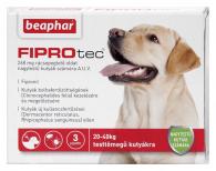 FIPROTEC 268MG 3X nagytestű kutyáknak