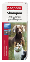 Hypoallergén sampon kutyáknak és macskáknak
