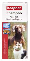 Bőrnyugtató sampon kutyáknak és macskáknak