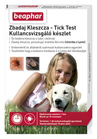 TICK TEST 1X PL/HU