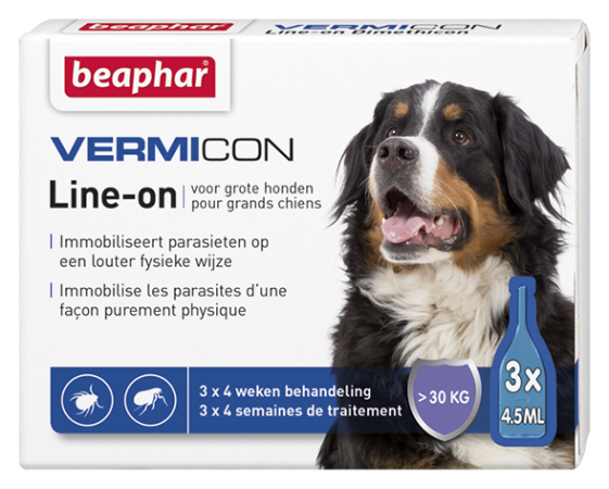 Vermicon spot on kutyáknak / 30kg fölött