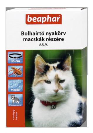 BEAPHAR BOLHANYAKÖRV macskáknak (fekete)