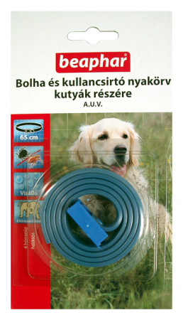 BEAPHAR BOLHA- és KULLANCSNYAKÖRV kutyáknak (kék)