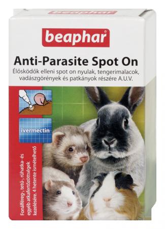 Beaphar élősködők elleni spot on - nyúl/tengerimalac/görény/patkány
