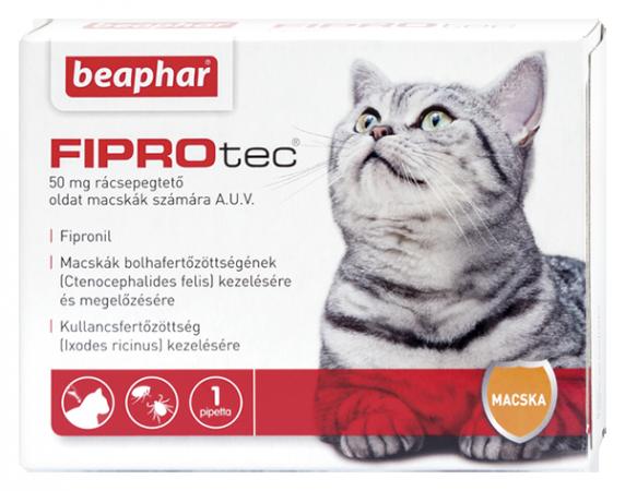 FIPROTEC 50MG 1X HU macskáknak