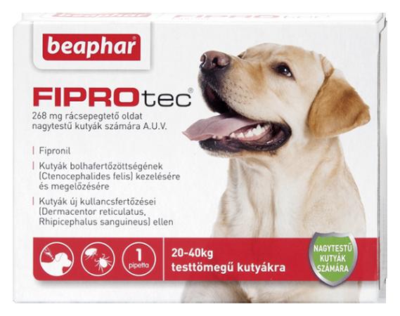 FIPROTEC 268MG 1X HU nagytestű kutyáknak