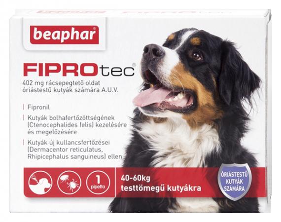 FIPROTEC 402MG 1X HU óriástestű kutyáknak