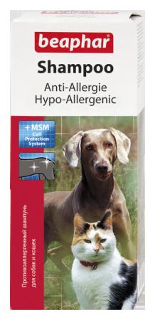 BEAPHAR HYPOALLERGÉN SAMPON kutyáknak és macskáknak