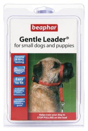 GENTLE LEADER Fejhám kisméretű kutyáknak - piros