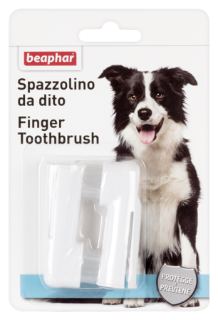 Finger Toothbrush - Spanish/Italian/Norwegian/Swedish