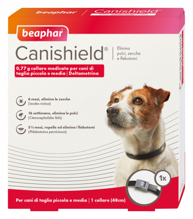 1 Collare Canishield Cane Piccolo-Medio