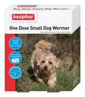 Beaphar One Dose Small Dog Wormer