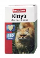 Kitty's  Taurine-Biotine 180szt. - przysmak witaminowy z tauryną i biotyną