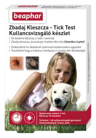 Zbadaj Kleszcza/Tick Test - test na obecność krętków borrelia PL