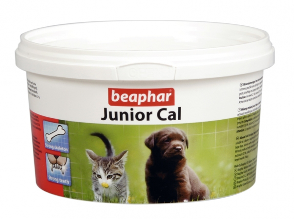 Junior Cal 200g - prep. wapniowy dla szczeniąt kociąt, samic w ciąży i okr. laktacji