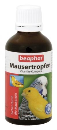 Mausertropfen 50ml - preparat witaminowy stosowany podczas pierzenia ptaków