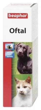 Oftal 50ml - krople do pielęgnacji oczu psów i kotów