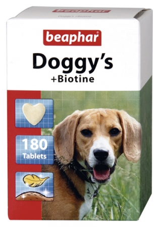 Doggy's + Biotine - 180 Treats - English/Polish/Bulgarian