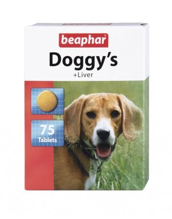Doggy's + Liver 75szt. - przysmak witaminowy o smaku wątróbki