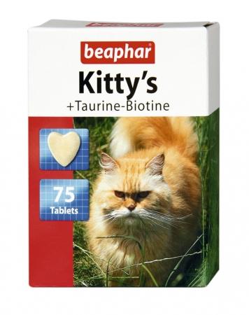 Kitty's + Taurine-Biotine 75szt. - przysmak witaminowy z tauryną i biotyną