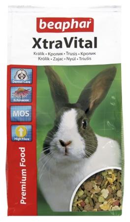 XtraVital Rabbit Feed - 1kg - Russian/Ukranian/Czech/Latvian/Lithuanian/Slovak/Hungarian/Polish