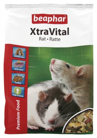 XtraVital Rat 2,5kg - karma Premium dla szczurów