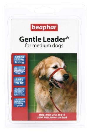 Gentle Leader -  obroża uzdowa rozmiar M, kolor czerwony