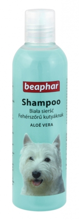 Shampoo White Coat Aloë Vera - 250ml - Polish/Bulgarian/Hungarian