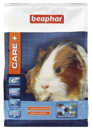 Care+ Guinea Pig 1,5kg - karma Super Premium dla świnek morskich
