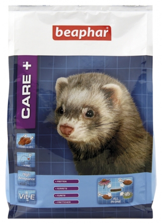CARE+ Extruded Ferret Food - 2kg - Dutch/French/English/German/Spanish/Italian/Greek/Norwegian
