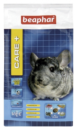 Care+ Chinchilla 250g -  karma Super Premium dla szynszyli