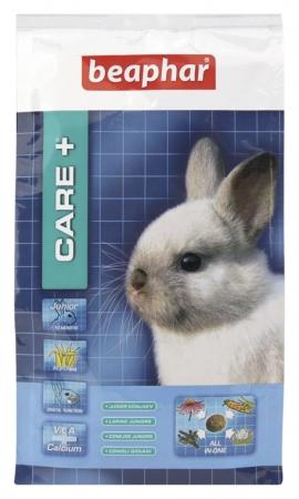 Care+ Rabbit Junior 250g  - karma Super Premium dla młodych królików