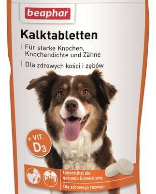Wzmocnienie psich kości i zębów - nowe Kalktabletten!