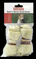 Huesos Anudados de Buey y Bacon Pequeño